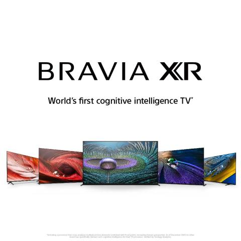 """A Sony Europe anuncia os novos modelos BRAVIA XR 8K LED, 4K OLED e 4K LED com o novo """"Cognitive Processor XR"""""""