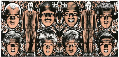 Gilbert & George, SPORE, 1986
