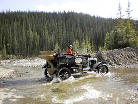 Verden rundt i en T-Ford