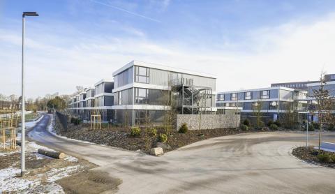 Wohngebäude in Modulbauweise