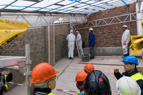 Boligbygg med forbildeprosjekt: Miljøvennlig rehabilitering av verneverdig murgård