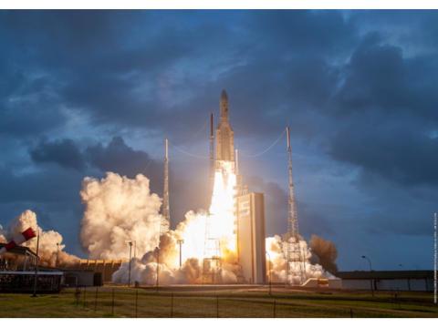 Internetsatellit EUTELSAT KONNECT erfolgreich gestartet