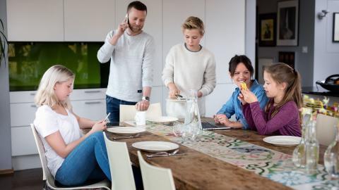 Over 100.000 har kontroll på familiehverdagen