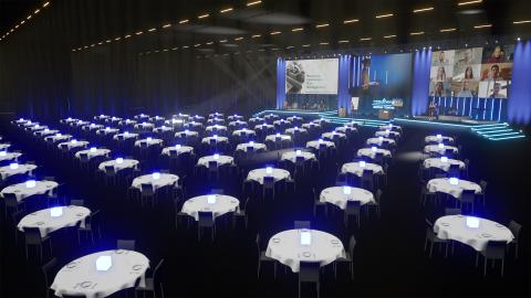 The Swedish Exhibition & Congress Centre and Gothia Towers are launching Sweden's largest arena for hybrid meetings