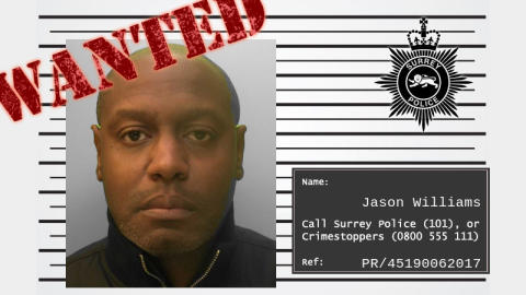 Can you help us find wanted man Jason Williams?