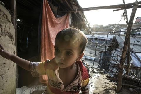 Två år efter rohingyers flykt från Myanmar