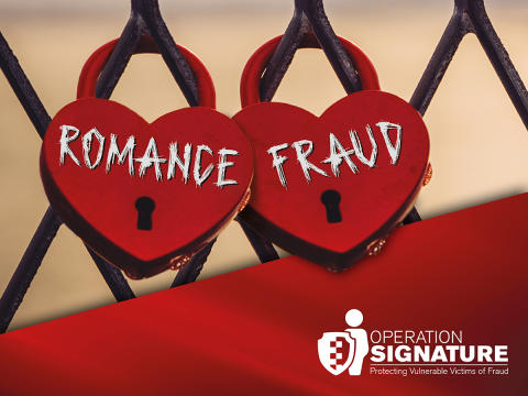 Report the online romance 'fraudsters'