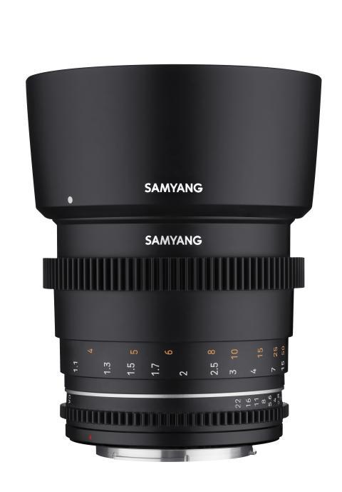 Samyang VDLSR MK2_85mm_Front