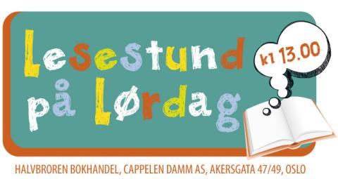 Velkommen til Lesestund på lørdag