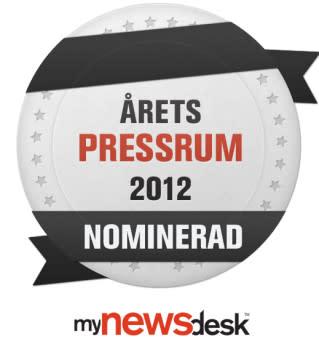 Findus nominerad till Årets Pressrum 2012