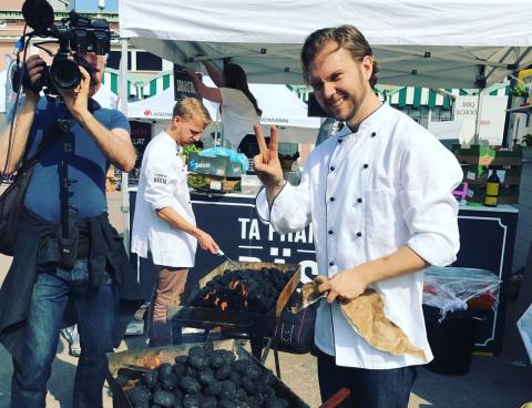 Jävligt Gott sätter upp vegansk restaurang i Almedalen