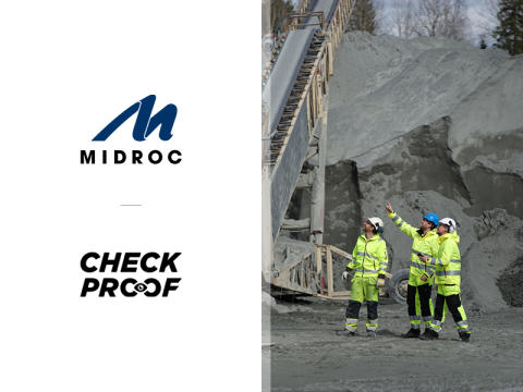 Midroc Europe investerar i CheckProof!