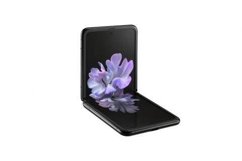 Samsung Galaxy Z Flip_l30 table top_black mirror