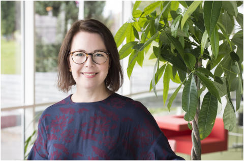 Kristin Koefoed, projektledare för Elmia Garden.