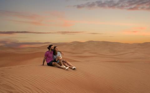 I ørkenen Dubai / UAE