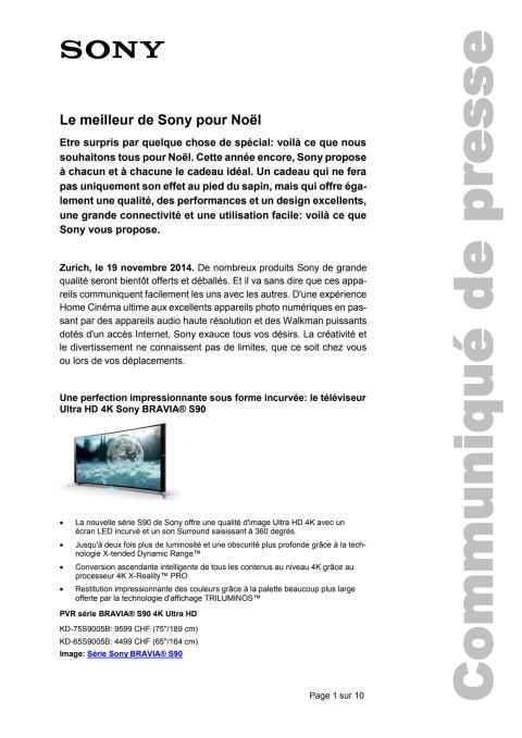 Communication de presse_X-MAS 2014_F-CH_141119