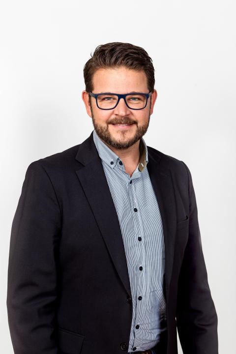 Mikael Hallengren, produktionschef på Ikano Bostad