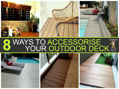 8 Ideas on How to Accessorise Your Outdoor Deck