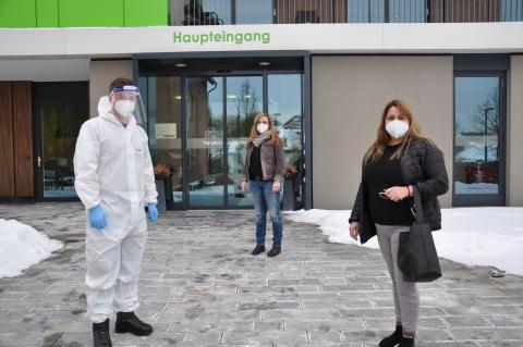 Bundeswehrsoldaten unterstützen Einrichtungen der Hephata Diakonie bei Umsetzung der Teststrategie