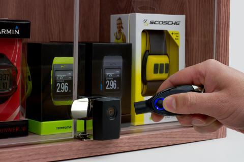 Varularm från Gate Security - InVue, Smart Lock - Showcase Lock