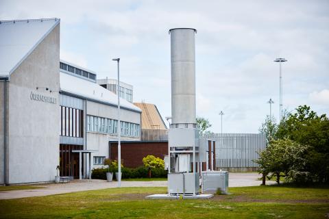 Nya gasfacklor på Öresundsverket, Ekebro reningsverk och Nyvångsverket