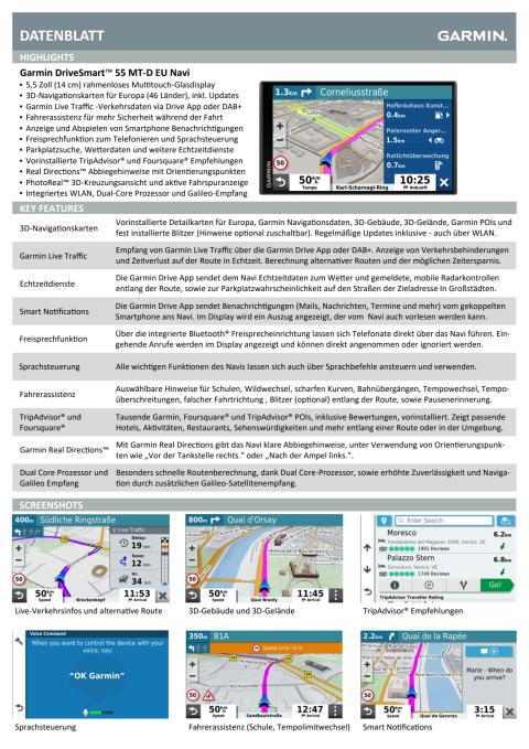 Datenblatt DriveSmart55 MT-D EU