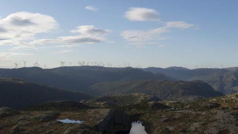Slik vil de ferdige vindparkene se ut