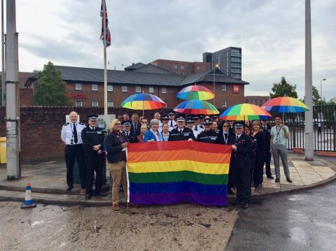 Merseyside Police 'go rainbow' to support this year's IDAHOBIT