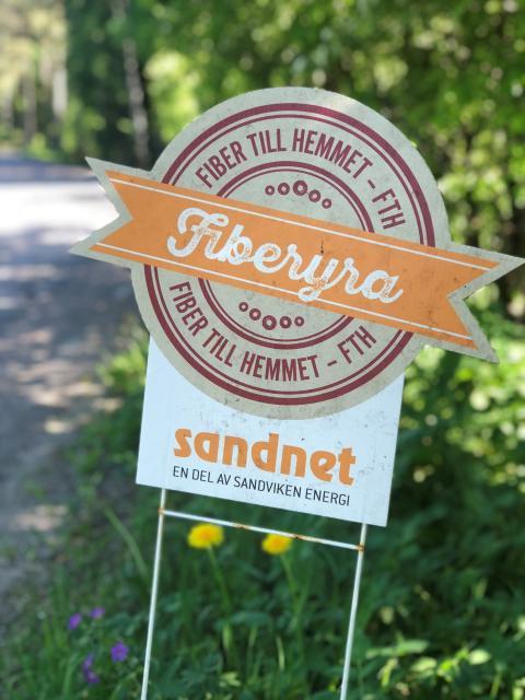 Tillgången till bredband ökar i Sandvikens kommun