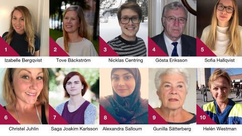 De är finalister i Årets volontär