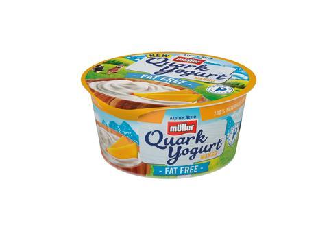 Müller Quark Yogurt Fat Free