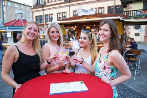 Das Weinfest in Leipzig