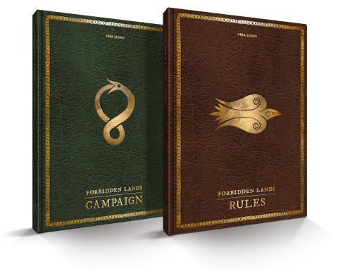 Forbidden Lands Core Books
