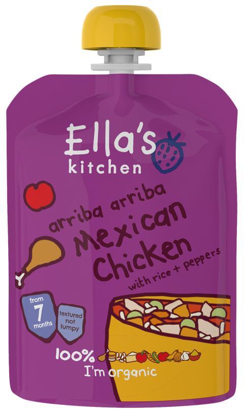 Ella´s Kitchen Mexikansk kyckling 130 g