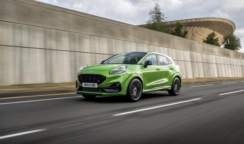 Ford presenterar nya Puma ST – hyllad kördynamik i en kompakt SUV
