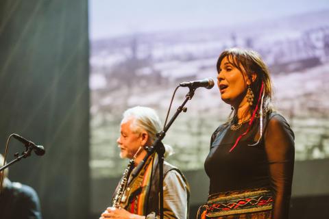 Anki Kallenberg - sångerska i Perunika och Elin Teilus band