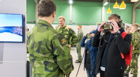 Försvarsmakten satsar digitalt under Nolia Karriär