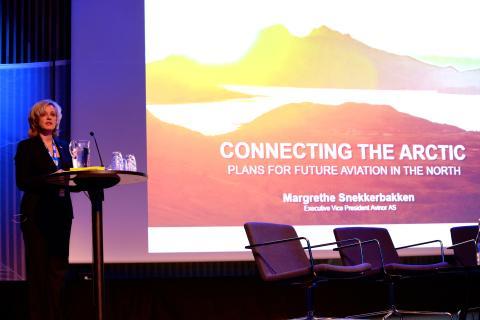Arctic Frontiers Businesss 2015, Margrethe Snekkerbakken Avinor