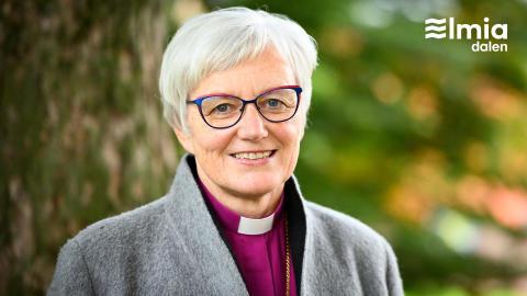 Ärkebiskop Antje Jackelén sommartalar på Elmiadalen