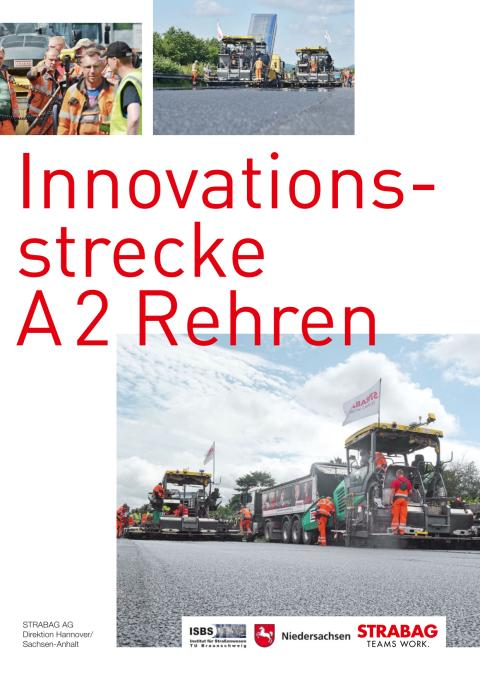 STRABAG AG: Innovationsstrecke  A 2 Rehren