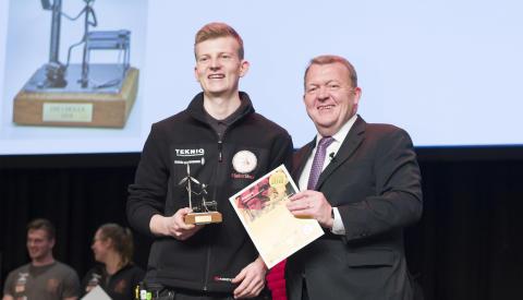 Nikolaj er Danmarks bedste elektrikerlærling