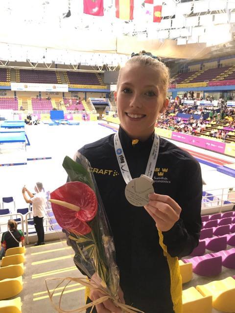 Silver till Lina Sjöberg i DMT-finalen på världscupen i Valladolid
