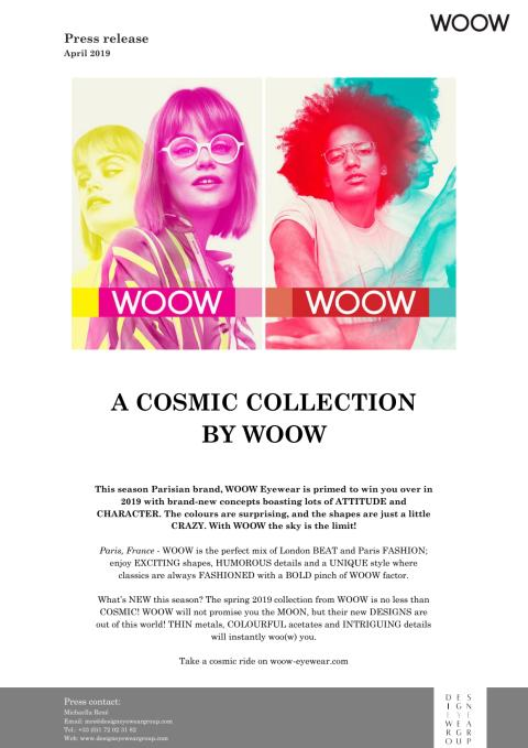 Woow is in a cosmic mood !