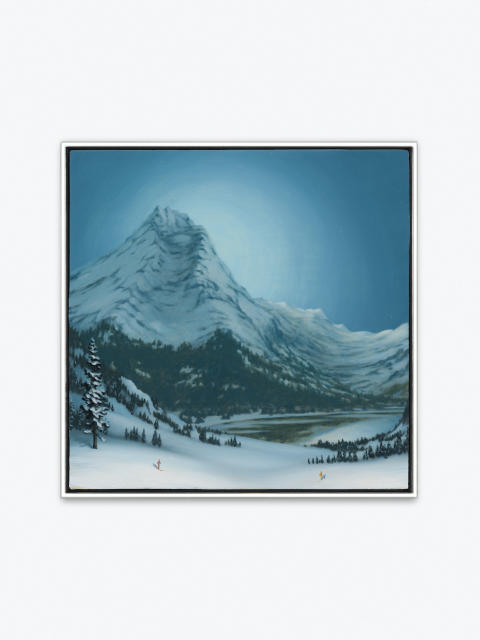 Dan Attoe -Mountains with Skiers-2015