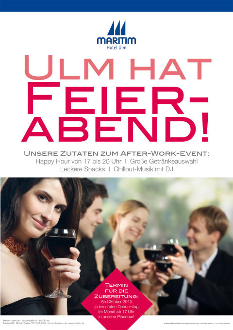 After-Work-Event Ulm hat Feierabend