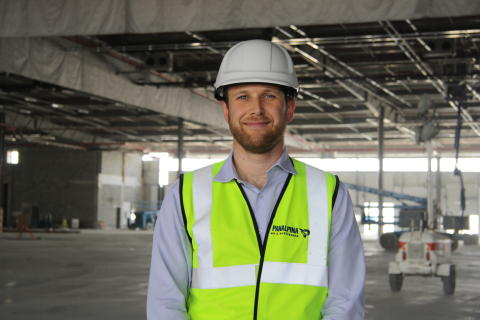 Cameron Kerr: Supervising the construction of Panalpina's giant new Logistics Manufacturing Services center in Dubai South