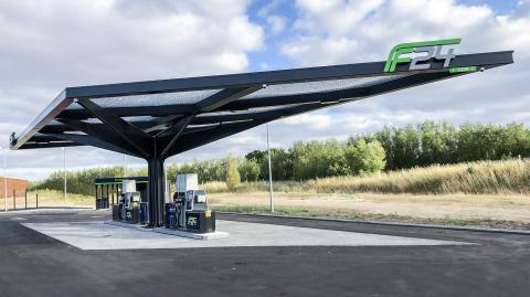 Nye F24-stationer åbner på Holbækmotorvejen ved Springstrup