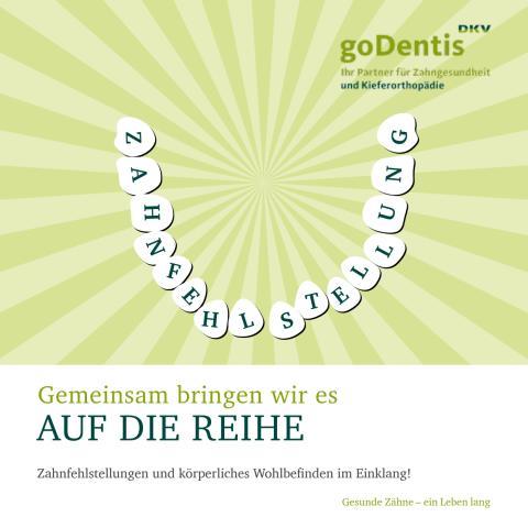 Flyer Zahnfehlstellungen