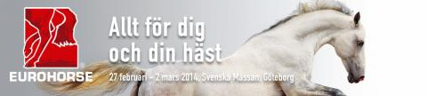 Kom och träffa oss på Eurohorse i Göteborg!