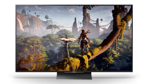 SONY_ZD9_65_Playstation_TV_Horizon Zero Dawn_ScreenFill